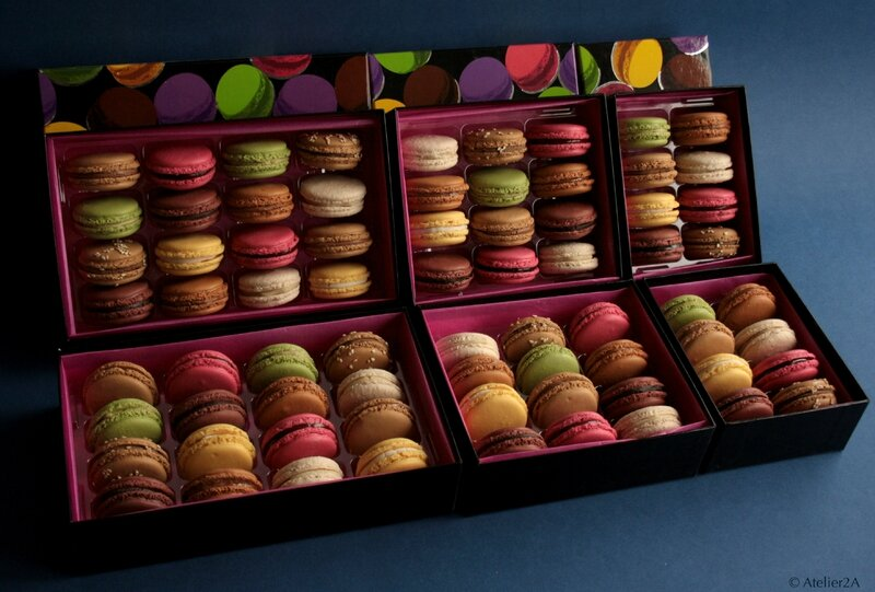 Macarons factices
