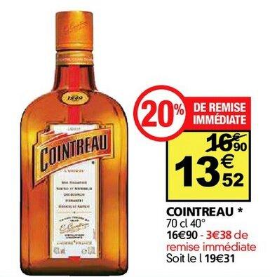 Auchan Cointreau du 29-06 au 4-07-2016