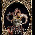 Portrait de chat costumé en bouffon du roi (personnalisable)
