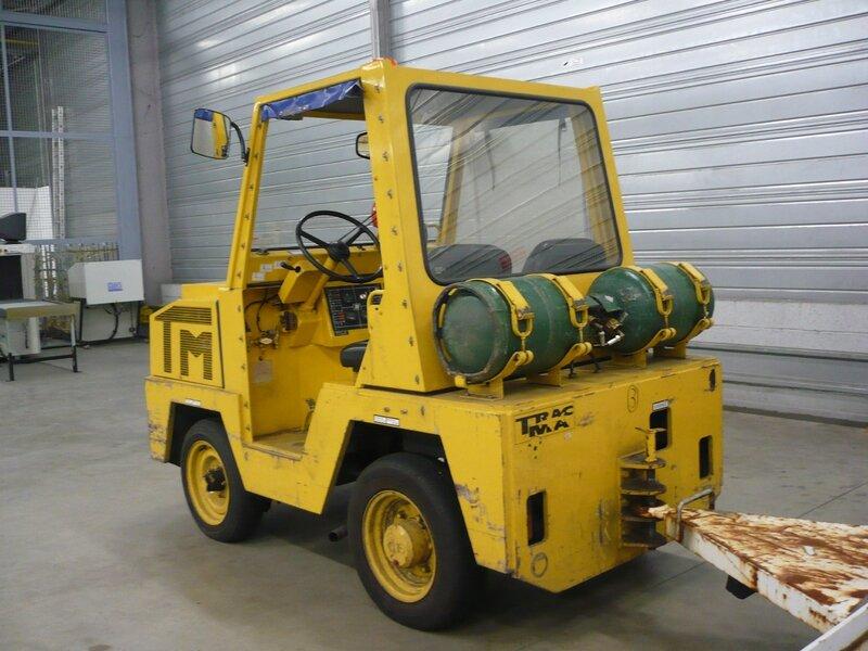 TRACMA type TM20S tracteur aérodrome à gaz Entzheim (2)
