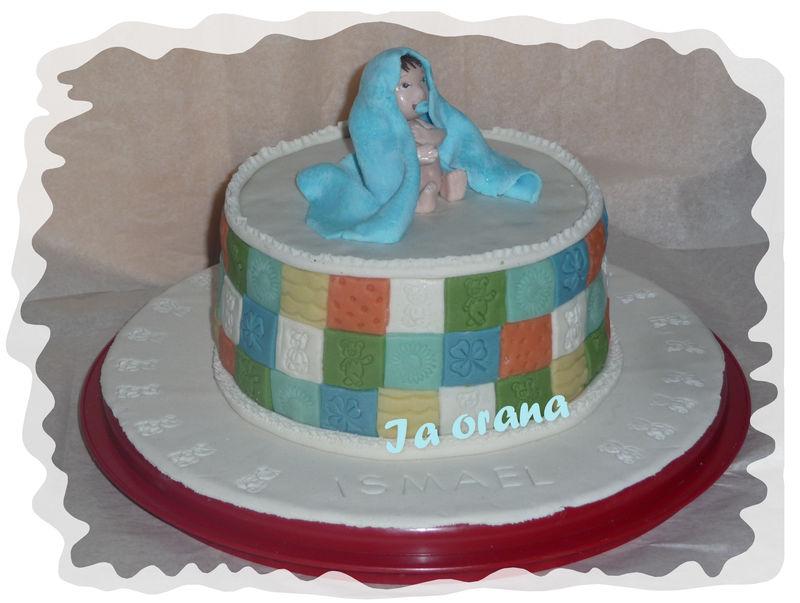 Gâteau bébé garçon/Baby cake