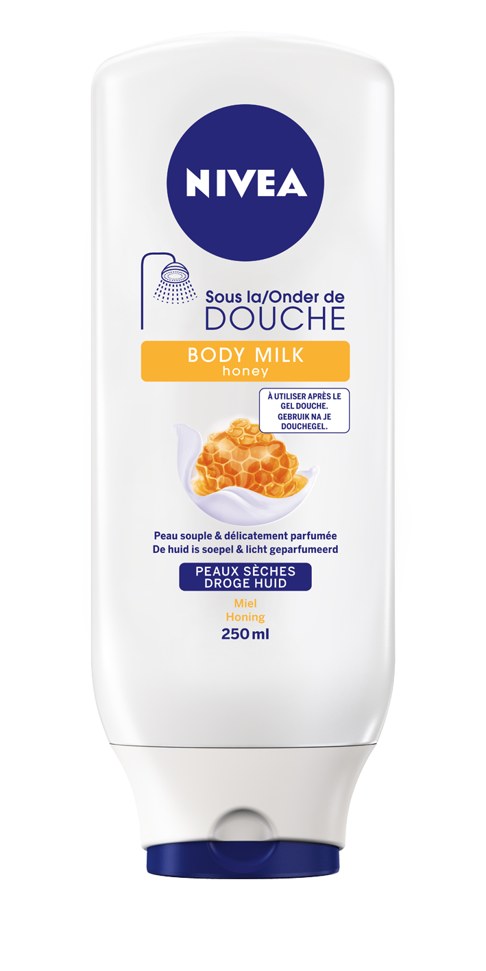 Body milk honey sous la douche de Nivea