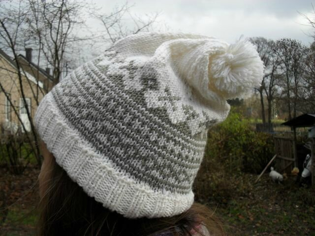 Bonnet jacquard mag fait main le blog collectif - Modele de bonnet a tricoter facile ...
