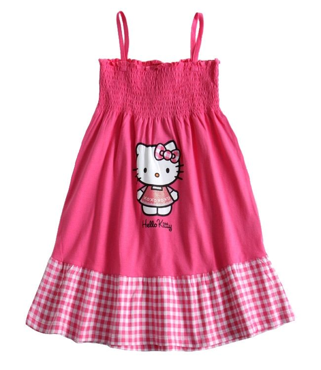 Robe hello kitty pour fille - Robe de chambre hello kitty ...