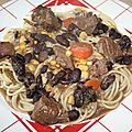 Spaghetti sauce chili con carne