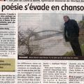 Le journal du centre du 13 mars 2010