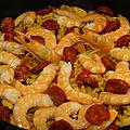 Paella de coquilettes