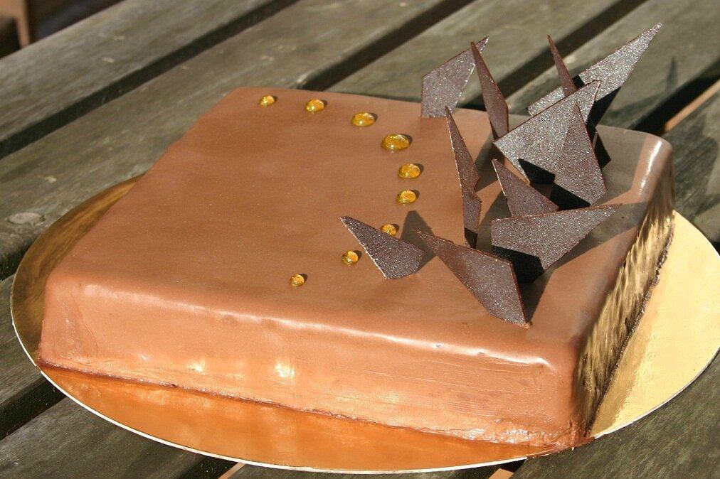 Gateau mousse au chocolat mercotte