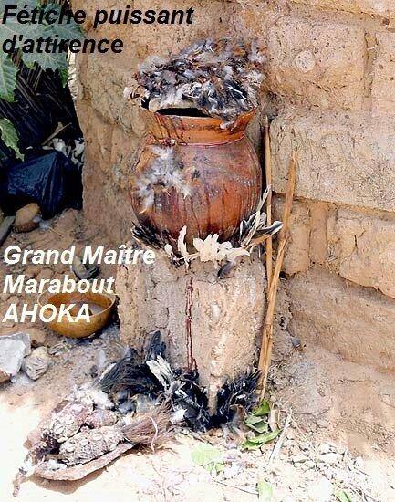 Fétiche d'attirence- marabout AHOKA