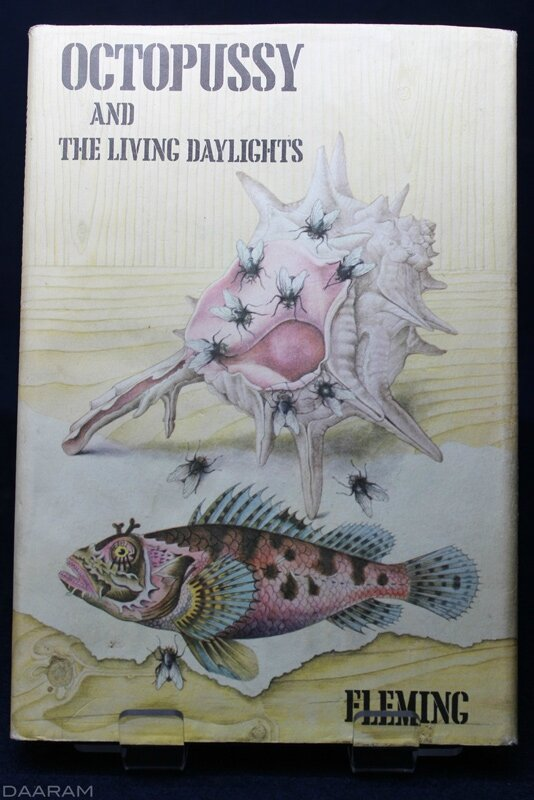 The book:«Octopussy and the living daylights» written by Ian Fleming in 1966. Photo: Olivier Daaram Jollant © 2016