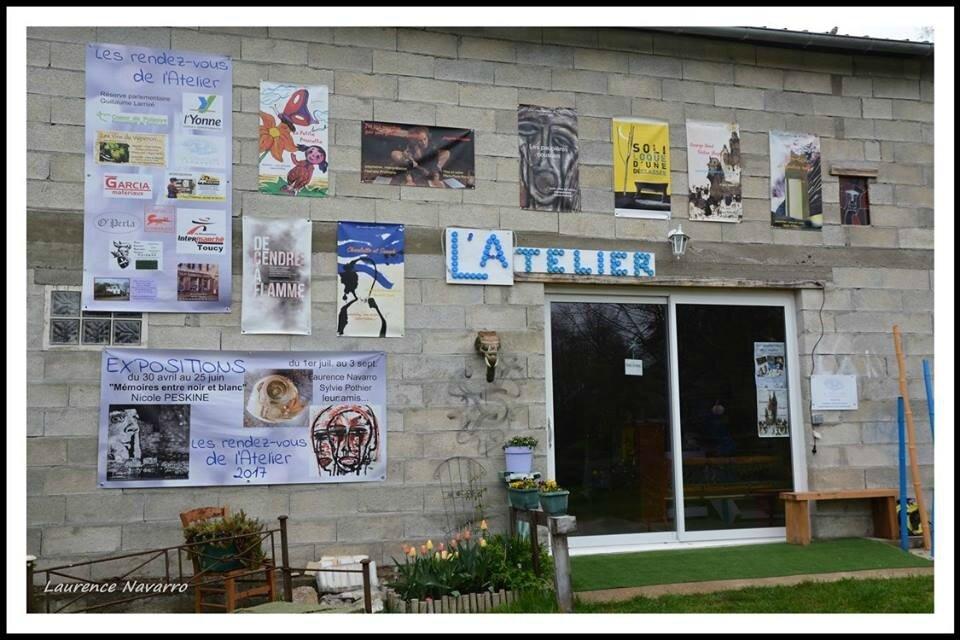 Hier 31 Mars, inauguration du théâtre L'Atelier à Fontaines ...