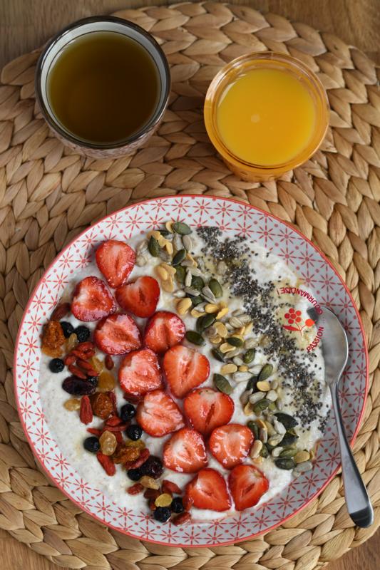 Crème Budwig fraises, superfruits & graines_2