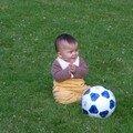 Maxence, footballer en herbe