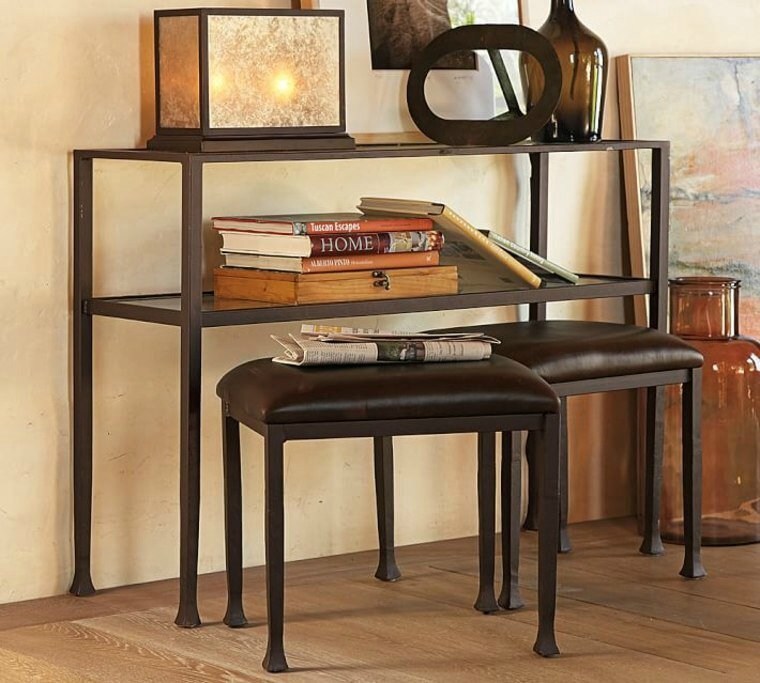 console-haute-idee-meuble-moderne-tanner-pottery-barn