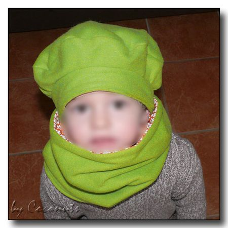 modele snood polaire