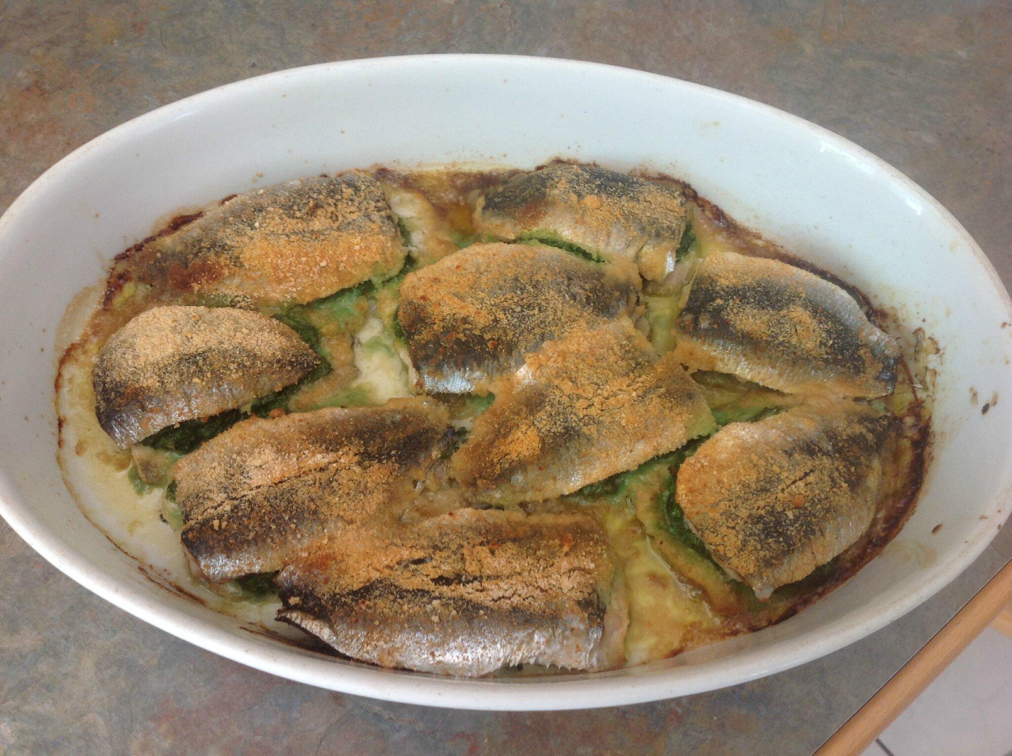 Sardines à la mentonnaise