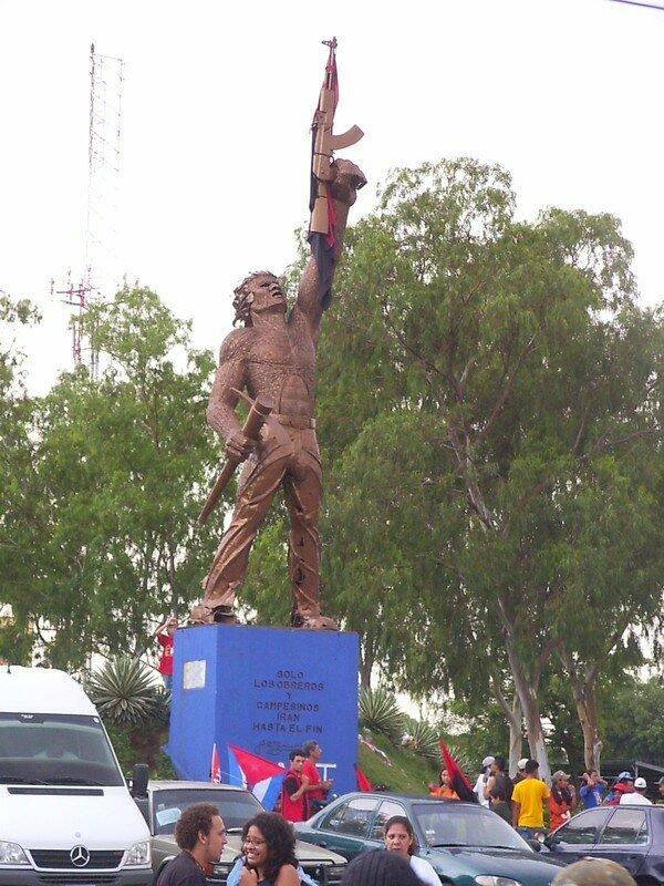 G008 Le 19 juillet : 28 ième anniversaire de la révolution sandiniste