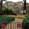 Le musée de Cluny et son jardin médiéval.