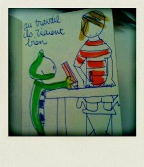 2009, PAco et BArna dessinent