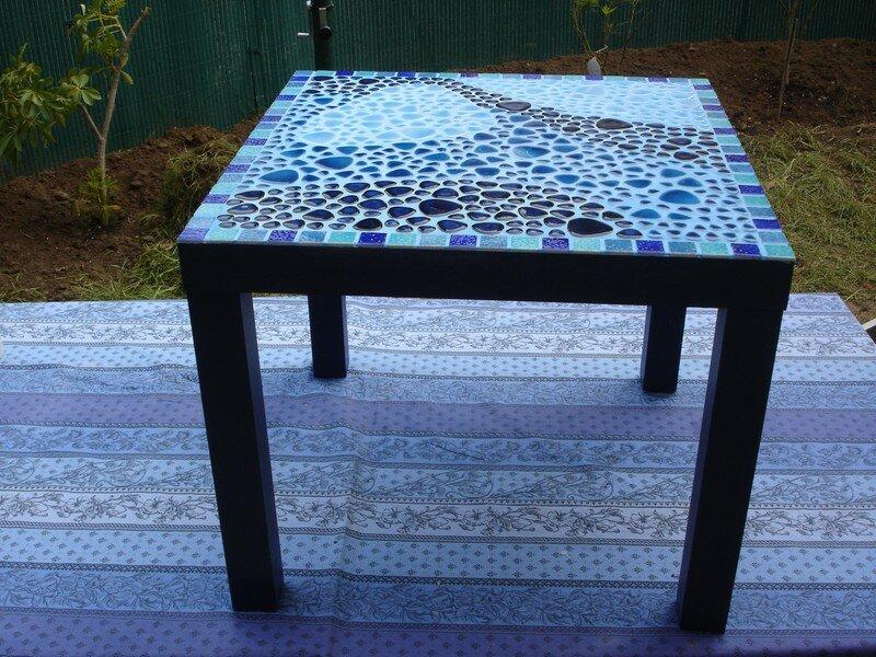 Faire une table de jardin mosaique des id es int ressantes po - Faire une table de jardin ...