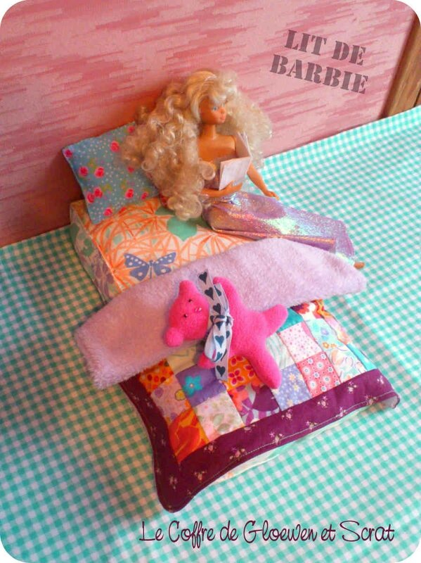 Couture Lit de Barbie by Gloewen (7)