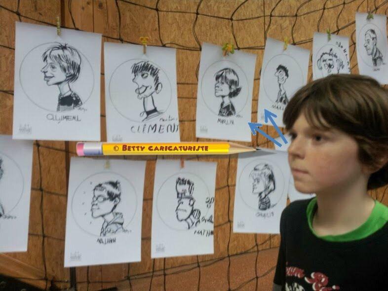 atelier caricatures enfants caricaturistes