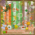 Kit colorful garden