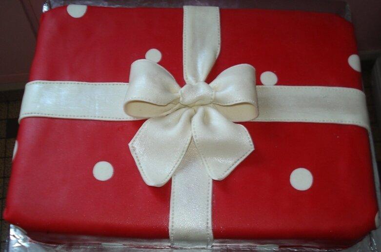 Gâteau cadeau 2