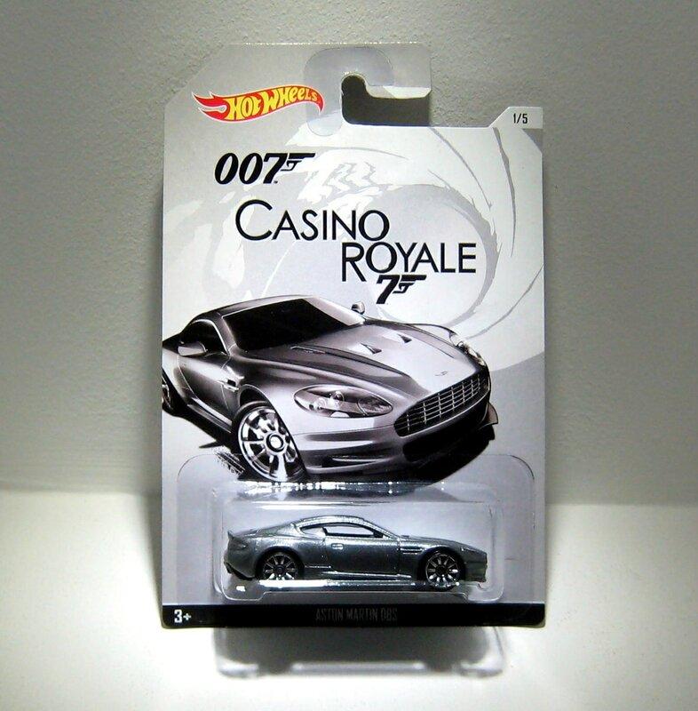 Aston martin DBS (Série 007) Hotwheels 2015