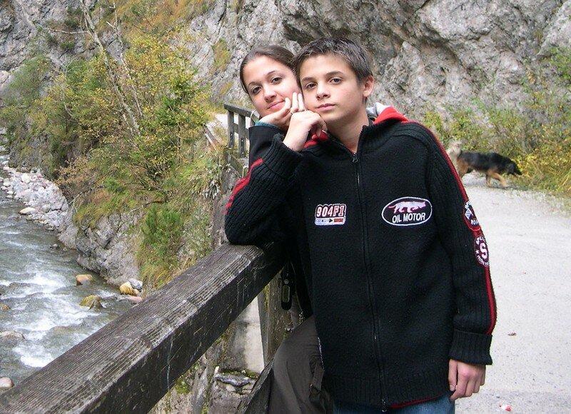 Aurélie et Eric en Autriche