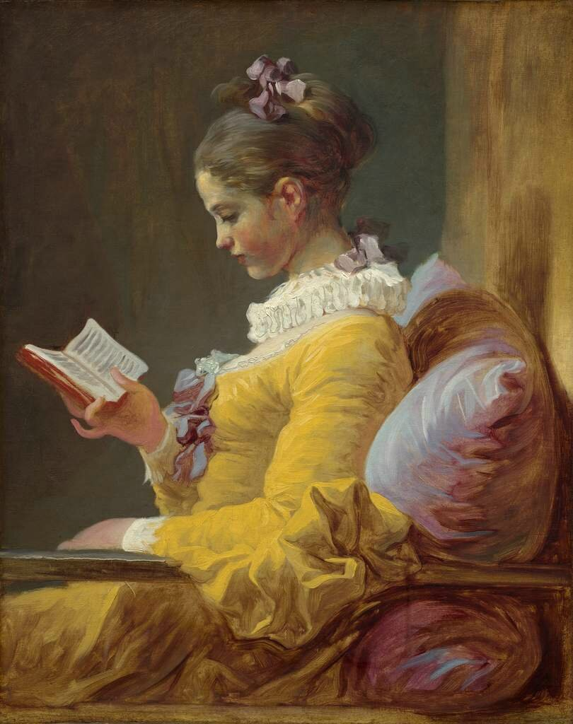 Research reveals significantly different composition in Jean-Honoré Fragonard's Young Girl Reading