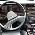 Cadillac tableau de bord