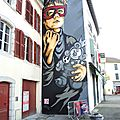 Bayonne, Street Art Point de Vue, fresque, RNST (64)