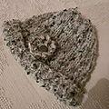 Bonnet en tricot ( 1 )