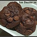 Cookies tout chocolat thermomix
