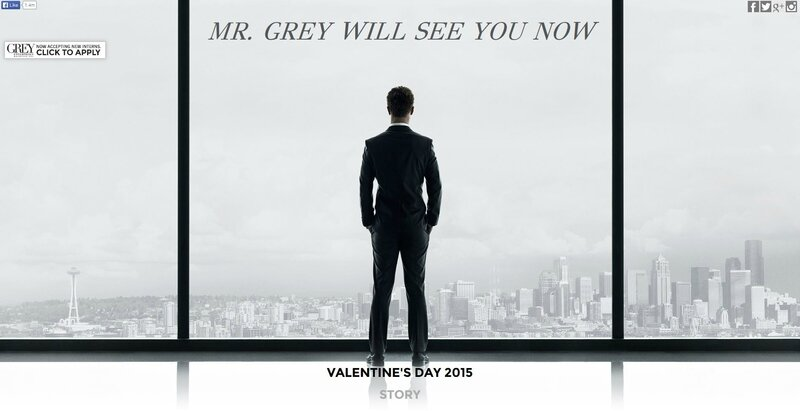 site internet fifty shades of grey