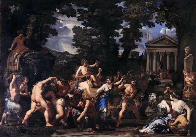 Pietro da Cortona (1596-1669), Triumph of Bacchus, Musei Capitolini