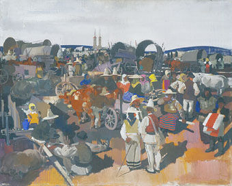 Aba_Novas_Miklos_1935_the_fair_at_csikszereda