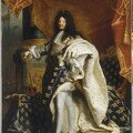 Louis xiv roi de france portrait en pied en costume royal