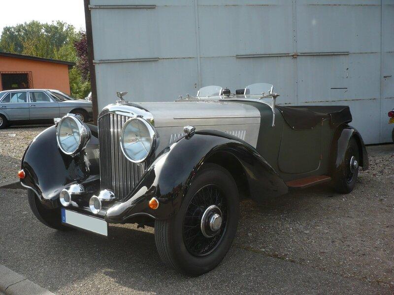 BENTLEY Derby roadster 1938 Lipsheim (1)