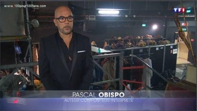 [REPLAY] Pascal Obispo dans le JT de 13H de TF1 le 29 octobre