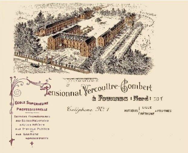 FOURMIES-Ecole Vercouttre-Combert