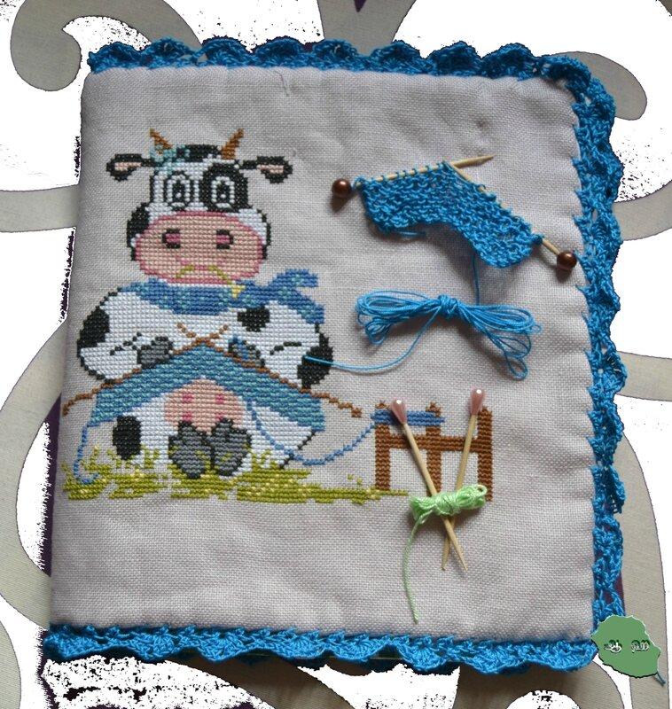 vache tricoteuse
