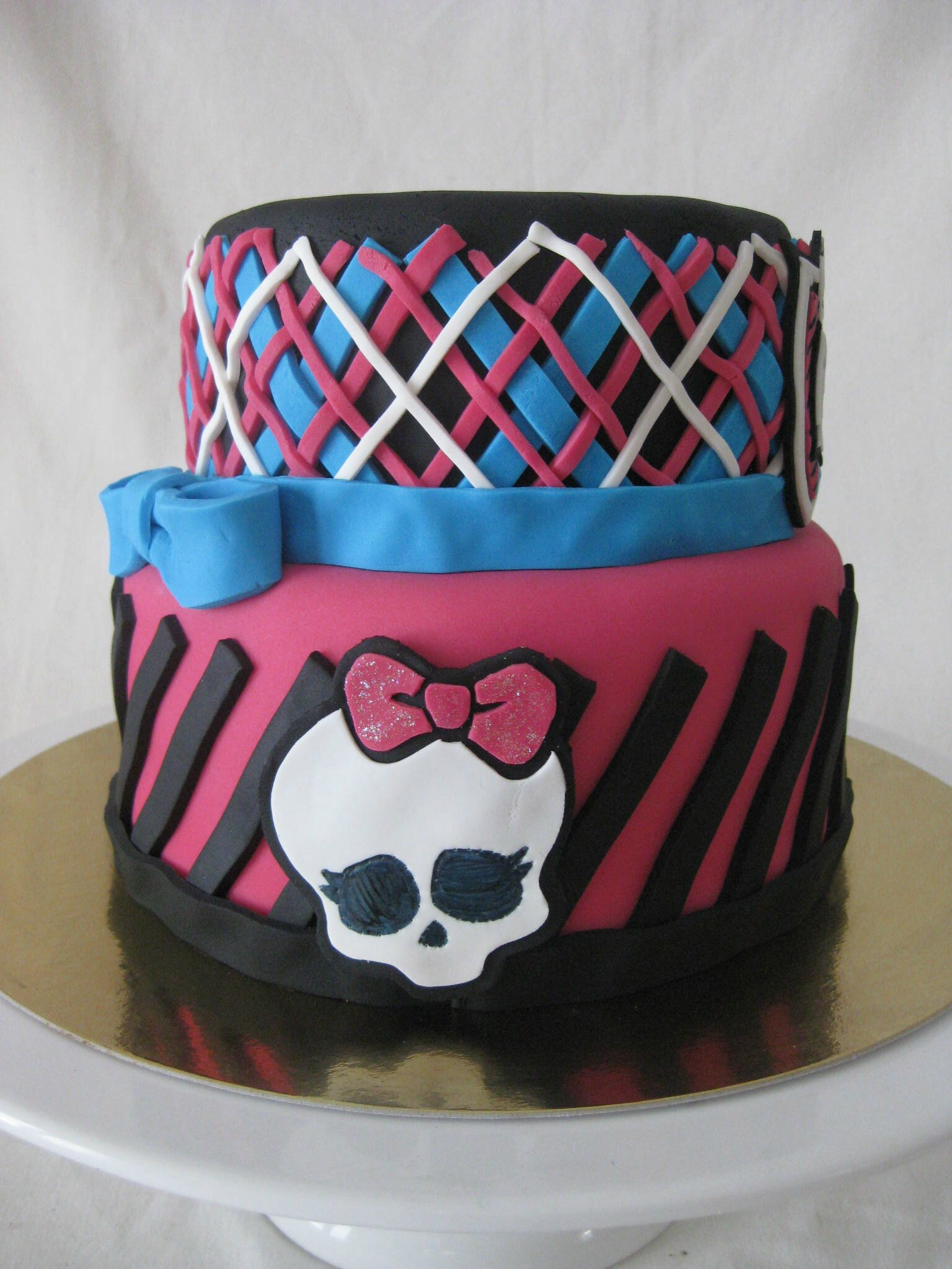 Favori Gâteau Monster High - Monster High Cake - Les Hobbies d'Aurélie PF37