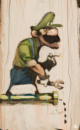 Smoking_Luigi