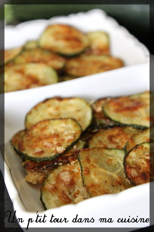 Chips courgettes