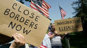 immigration anti-illegal immigration demonstration