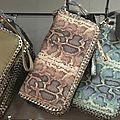 Portefeuille - Porte monnaie - Porte cartes 'Chaînes '. Portefeuille - Porte monnaie - Porte cartes 'Python & Chaînes '