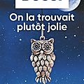 On la trouvait plutôt jolie ❉❉❉ michel bussi