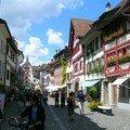Dans les rues colorées de Stein am Rhein